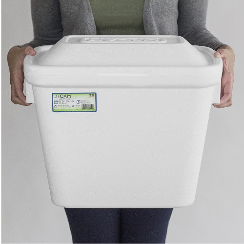 3542 FOAM ICE CHEST 24 28-30QT