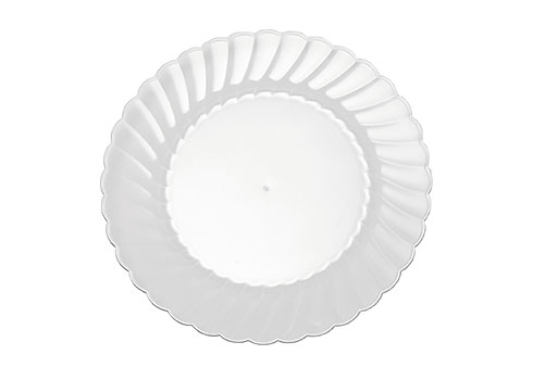 "CW6180 CLASSIC CL PLATE 6"" 180 CLEAR"